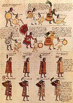 indumentaria del pueblo mexica wikipedia la