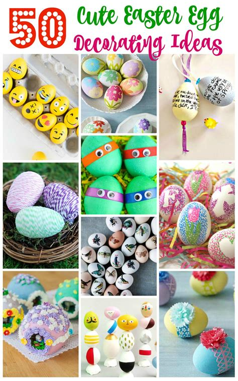 adorable easter egg designs  decorating ideas easyday
