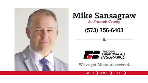 The director oversees the missouri department of insurance and is responsible for policy decisions, regulation, legislation and communications. Mike Sansagraw - Missouri Farm Bureau Insurance - YouTube