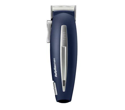 buy babyliss men ceramic smooth cut hair clipper blue