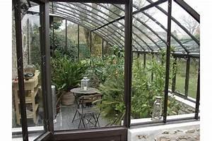 Serre Adossée Bois : serre adoss e chambord sur muret jardin couvert ~ Melissatoandfro.com Idées de Décoration