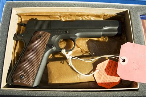 Nib Colt 1911a1 Ww2 Limited Reproduction 45 For Sale