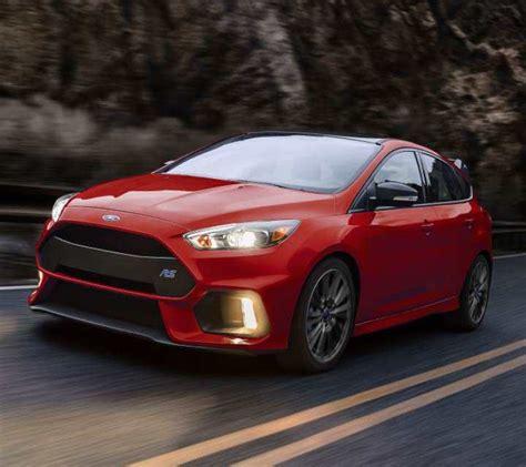 2018 Ford® Focus Sedan & Hatchback  High Performance