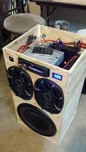 Musikanlage Selber Bauen : diy portable stereo in 2019 selber bauen elektronik ~ A.2002-acura-tl-radio.info Haus und Dekorationen