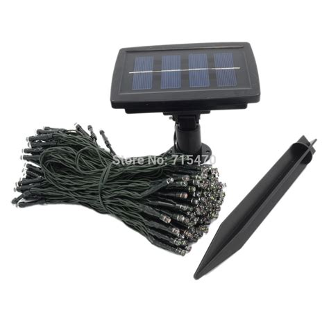 2015 top fashion solar panel garden decoration 65ft 200