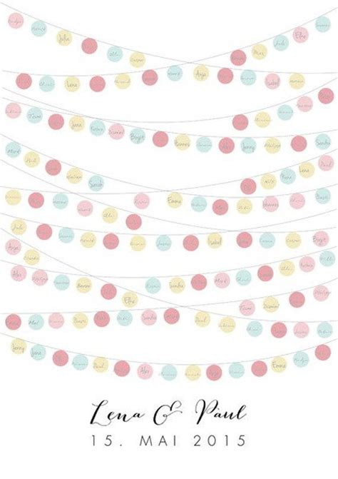 guest posterguestbook   wedding lampions