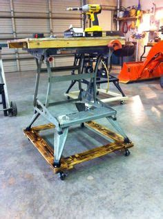 workmate roller stand ideas   shop