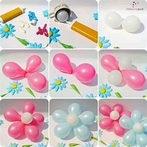 DIY Balloon Flower Tutorial UsefulDIY com