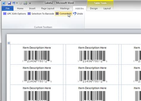 print  sheet  upc ean barcode labels
