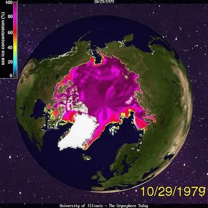 Global Warming Animated Arctic Ice Sea Cryosphere