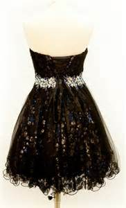 Black Sweet 16 Birthday Dresses