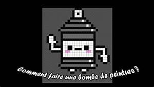 Pixel Art Bombe : pixel art bombe de peinture kawa youtube ~ Melissatoandfro.com Idées de Décoration