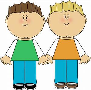 Brothers Clip Art Image