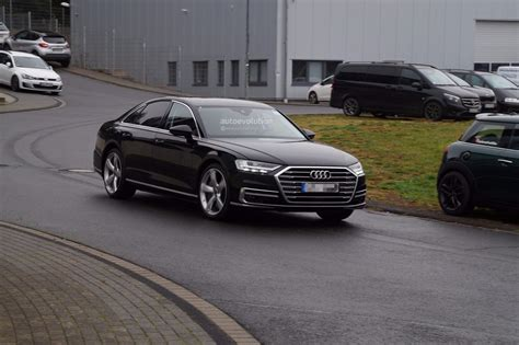 2019 Audi S8 Spied Showing Quad Exhaust System