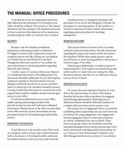 sample office manual 8 documents in pdf word With office manual template