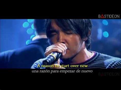 Hoobastank  The Reason (sub Español + Lyrics) Youtube
