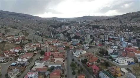 la paz bolivia zona sur alto seguencoma drone test flight dji phantom  hd  aug  youtube