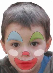 Modele Maquillage Carnaval Facile : modele maquillage clown facile ~ Melissatoandfro.com Idées de Décoration