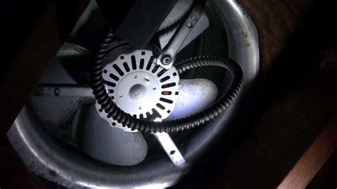 lomanco attic fan thermostat lomanco attic power vent fan motor replacement youtube