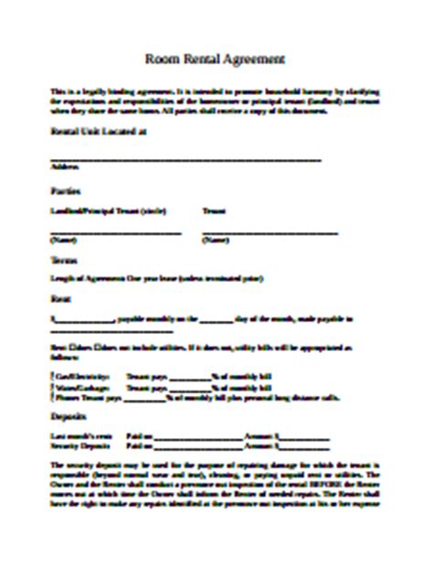room rental agreement template swot analysis template free create edit fill