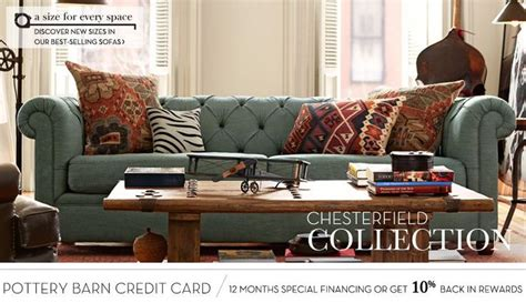 Pottery Barn Chesterfield Grand Sofa by Pottery Barn Chesterfield Sofa In Denim Bohemian