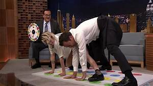 Kristen Stewart Plays Jell-O Shot Twister With Jimmy ...