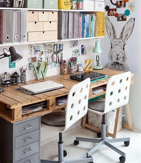 etagere rangement bureau bureau en bois 34 idées diy très cool en palette europe