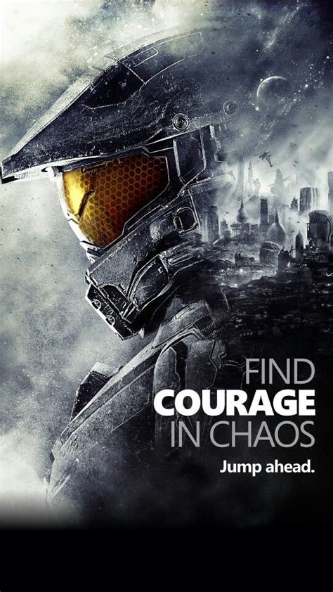 You can also upload and share your favorite chaos wallpapers. Master Chief Find Courage In Chaos phone wallpaper | Halo ...