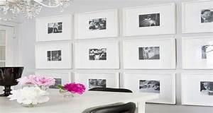 Cadre Pour Plusieurs Photos : syst me pour accrocher un tableau sans faire de trou ~ Teatrodelosmanantiales.com Idées de Décoration