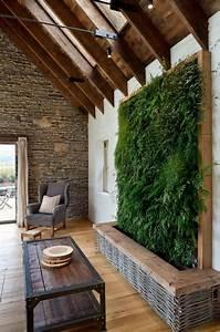 La Maison Möbel : mur v g tal int rieur en 80 id es pour la maison ~ Watch28wear.com Haus und Dekorationen