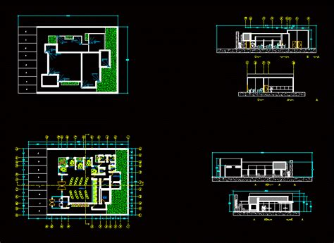 bank dwg section  autocad designs cad