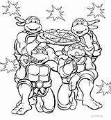 Coloring Nickelodeon Pages Tmnt Printable Cool2bkids sketch template