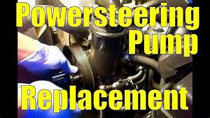 Power Steering Pump Replacement  1993 Lexus Sc300  2jz