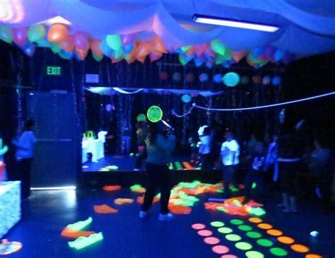black light glow party black light neon birthday quot black light surprise party