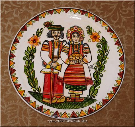 wall decorating ukrainian collectors wooden plates