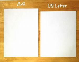 a4 vs letter size paper comparison for filofax inserts With a4 letter paper