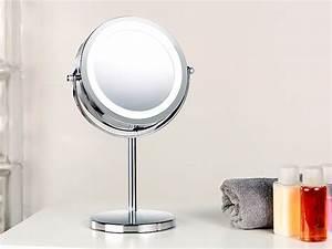 Kosmetikspiegel Mit Saugnapf : sichler beauty led spiegel stand kosmetikspiegel mit 18 led 3 fache vergr erung spiegel mit ~ Sanjose-hotels-ca.com Haus und Dekorationen