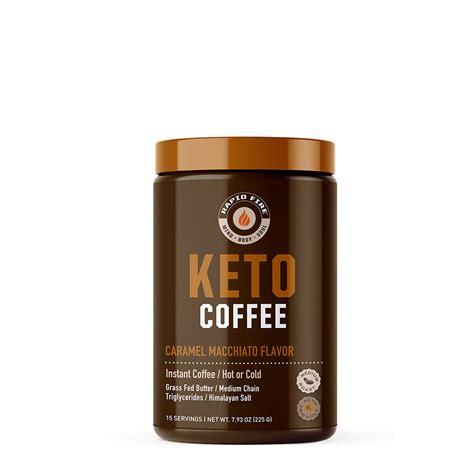 It's a delicious, satisfying, and nutritious coffee beverage. Ketogenic Coffee - Caramel Macchiato Caramel Macchiato | GNC