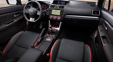 2018 Subaru Wrx Sti Limited Premium Msrp Price Interior