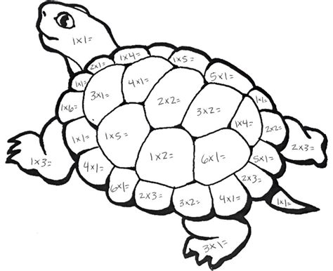 math coloring pages to and print for free