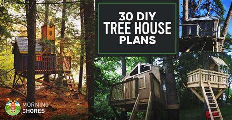 livable treehouse plans
