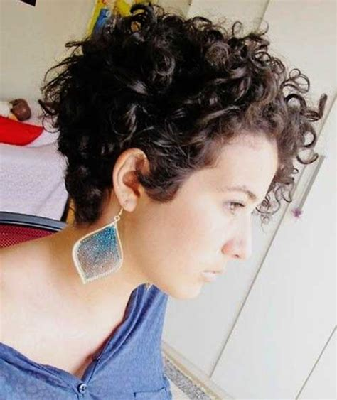 good short natural curly haircuts short hairstyles
