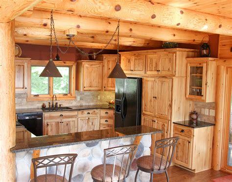log cabin kitchen cabinets log cabin kitchens and baths