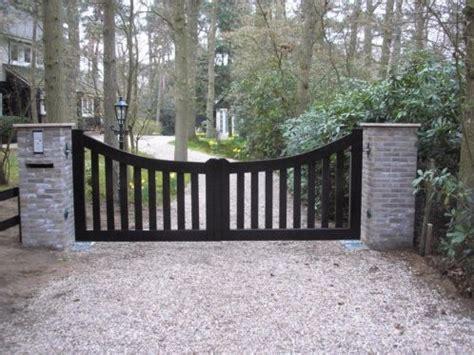 inrijpoort houten hek poort automatisch tuin hekafscheiding advertentie 642824