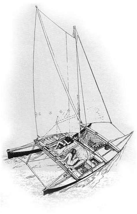 Catamaran Technical Drawing by James Wharram Catamaran Plans Must See Gilang Ayuninda