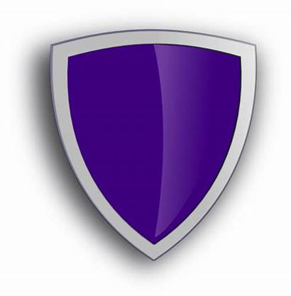 Shield Purple Security Protection Pixabay Vector Clip