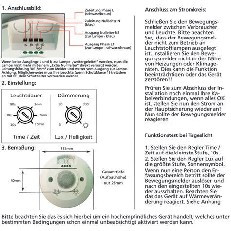 kann 2 bewegungsmelder an eine le anschließen bewegungsmelder einstellen 3 regler cykelhjelm med led lys