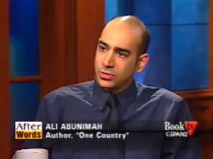 """EI's Ali Abunimah discusses """"One Country"""" on C-SPAN2's ..."""