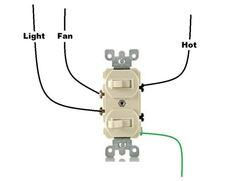Wiring a ceiling fan with four wires is the most common, however, an additional color wire may be incldued. I have a bathroom with a light and separate fan. both have their own switch. I am replacing the ...