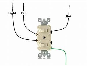 Wiring Diagram For Dual Switch One Light